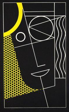 Modern Head 2 - Roy Lichtenstein 1970