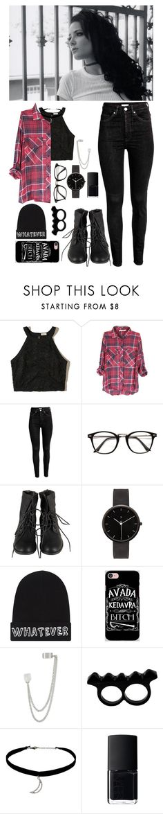 """""""Paint the sky with stars"""" by annatjie ❤ liked on Polyvore featuring Hollister Co., I Love Ugly, Local Heroes, Samsung, French Connection, L'Artisan Créateur, Topshop and NARS Cosmetics"""