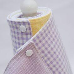 "Make a roll of washable/re-usable ""paper towels""!! Throw them in the wash, snap them back together and save some money. I like the idea if I was a stay home mom"