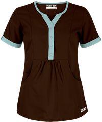 Butter-Soft Scrubs by UA Round Neck Top,  Style #  UA737C #uniformadvantage