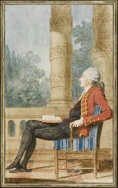 Comte de Barbancon, 1771 by Louis Caroggis Carmontelle (1717-1806)