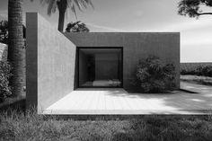 Arquitectura: Una casa minimalista en la Costa Azul