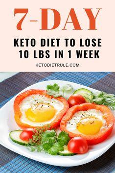 Keto Diet Plan, Diet Meal Plans, Dukan Diet, 7 Day Diet Plan, Keto Meal, Whole Food Recipes, Diet Recipes, Healthy Recipes, Healthy Foods To Eat