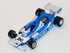 F1 Paper Model - 1979 GP USA Ligier JS11 Paper Car Free Template Download