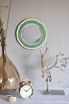 Bead Mirror room, Delineateyourdwelling.com