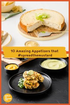 10 Amazing Appetizers that - Spread the Mustard Best Brunch Recipes, Great Recipes, Favorite Recipes, Best Appetizers, Appetizer Recipes, Mustard Recipe, Rub Recipes, Kid Friendly Meals, Salmon Burgers
