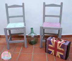 Transformar sillas con chalk paint