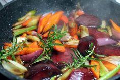 Glazovaná zelenina • recept • bonvivani.sk