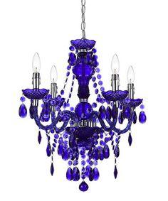 Look what I found on #zulily! Dark Purple Naples Four-Light Chandelier #zulilyfinds