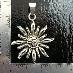 Fairy Lady Glass  - Sterling Silver Sun Pendant, $42.50 (http://www.fairyladyglass.com/sterling-silver-sun-pendant/)