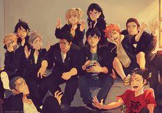 The Team | by Viria | Haikyuu!! | Anime