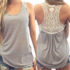 Large size t shirt women Summer Lace Vest Top comfortable female students t shirt Blusa Female Tank Tops T Shirt S~XXXL TONSEE-in Tank Tops from Women's Clothing & Accessories on Aliexpress.com   Alibaba Group