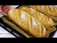 E recept után már nem vásárol kenyeret, házilag készít kenyeret! # 102 - YouTube Pain Pizza, Focaccia Pizza, Cheese Pies, How To Make Bread, Croissant, Cupcake Recipes, Bread Recipes, Rolls, Food And Drink