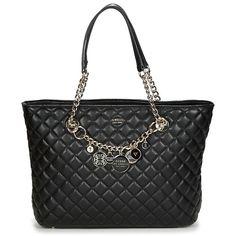 Cabas+/+Sac+shopping+Guess+VICTORIA+TOTE+Black+144.00+€ υπεροχη ! Victoria, Shoulder Bag, Outlet, Black, Fashion, Moda, Black People, La Mode, Fasion