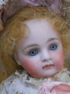 close up of all bisque doll   wrestler