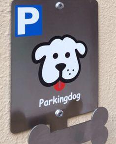 Parkingdog - Dog Parking - Parking Mascotas de PARKINGDOG en Etsy https://www.etsy.com/es/listing/240615105/parkingdog-dog-parking-parking-mascotas