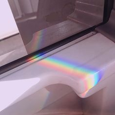 A rainbow on the bus   . . . [tags] #aesthetic #tumblr #cute #pretty #theme #feed #pink #blue #soft #flowers #girl #ootd #aesthetic #pastel #aesthetictumblr #clothes #bts #seventeen #kpop #hearts #skirt #fashion #clothes #sheets #bed #white #hair #rainbow #bus