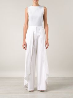 Rosie Assoulin wide-leg layered trousers