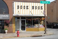 Butler Main Street bookstore, The Book Nook. Also where I did a Threaded Destiny book signing on October Nook, Destiny Book, Pennsylvania History, Literary Travel, Great Lakes Region, Book Racks, Local Events, Book Reader, Little Books