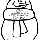 Download this adorable Snowman Shape Book for your students to create their very own 'snowman' story! Great to use in centers or for seatwork. Enjo... Shape Books, Cute Snowman, Booklet, Winter Wonderland, Free Printables, Students, Inspire, Shapes, Teaching