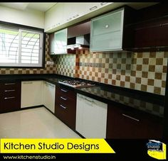 More space for you to cook. Less appliances getting in the way! #kitchendesigns #Modularkitchens