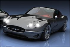 Growler E - A 21st Century E Type Jag?  Created by the Swedish design team at Visualtech, this incredible vehicle has been confirmed for an ultra limited production run set to release this coming summer of 2012