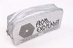 A cool EXO signature pencil case with the signatures of all EXO members. Exo Merch, Signature, Cute Stationery, Cute Memes, Exo Members, Cute Casual Outfits, Over Dose, Kpop Fashion, Chen