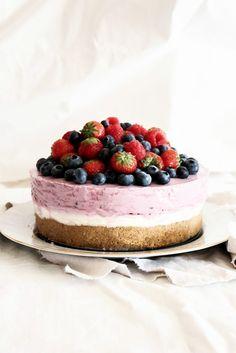 mela e cannella: berry cheesecake