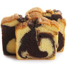 Sweet Sam's classic vanilla pound cake swirled with their dense dark chocolate…