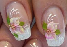 beautiful nails | DownloadYour Wedding Nail Art Designs Simple Beautiful