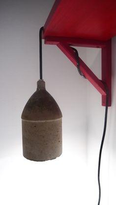 Concret lamp / Lampe en béton