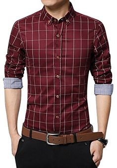 S-Fly Mens Party Long Sleeve Nightclub Hipster Patterns Button Down Shirts
