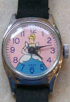 Cinderella Watch - received my first Cinderella watch in 1955