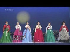 Arirang-very traditional and much loved Korean Folk song.  Love the ladies in their beautiful Hanboks.