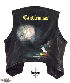 Savage Manufactory's Candlemass, Candlemass - Nightfall Battle Jacket | TShirtSlayer