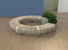 RADIUS Flower pot by Green Furniture Concept design Johan Berhin, Jonas Ekholst, Joakim Lundgren
