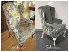 Houndstooth Upholstery