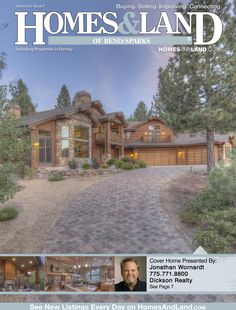 View the latest issue online of Homes & Land of Reno/Sparks #homesandlandmagazine #realestate #homesforsale