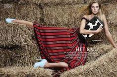 Wendelien Daan voor Elle NL
