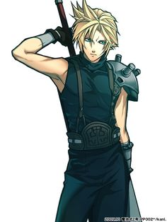 Cloud in final fantasy