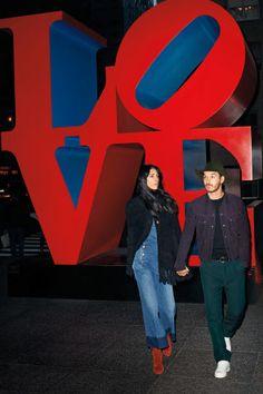 Jamie Bochert and David Alexander Flinn channel Love Story's Ali MacGraw and Ryan O'Neal //Manbo