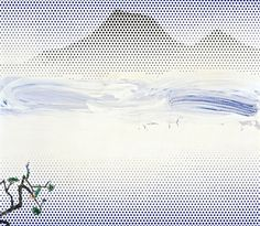 Roy Lichtenstein - Landscape in Fog - 1966