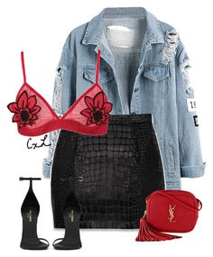 """Untitled #111"" by clynnstyle on Polyvore featuring Yves Saint Laurent and Boohoo"