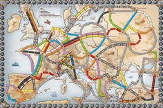Best board games for older kids: chart your way through USA, Europe or other locations with Ticket to Ride