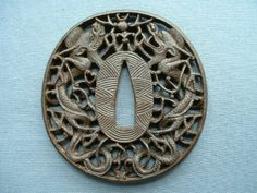 Antique Tsuba | antiques homepage catalogue antique samurai sword namban tsuba ...