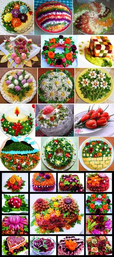 How to decorate vinaigrette: original ideas to familiar recipes Appetizer Buffet, Appetizer Recipes, Party Food Catering, Parties Food, Deco Fruit, Creative Food Art, Food Carving, Food Garnishes, Food Platters