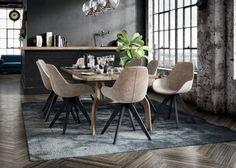 Krzesła do jadalni - piękne i wygodne modele - Galeria - Dobrzemieszkaj.pl Kitchen Dining, Dining Room, Conference Room, Dining Chairs, Table, Furniture, Home Decor, Decoration Home, Room Decor
