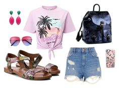 """crazy summer"" by renatahinterschusterova on Polyvore featuring River Island, Miss Selfridge and Casetify"