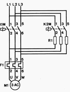 Line diagram for stardelta motor starter Motor in 2019