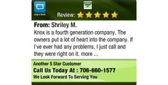 Knox is a fourth generation company. The owners put a lot of heart into the company. If...